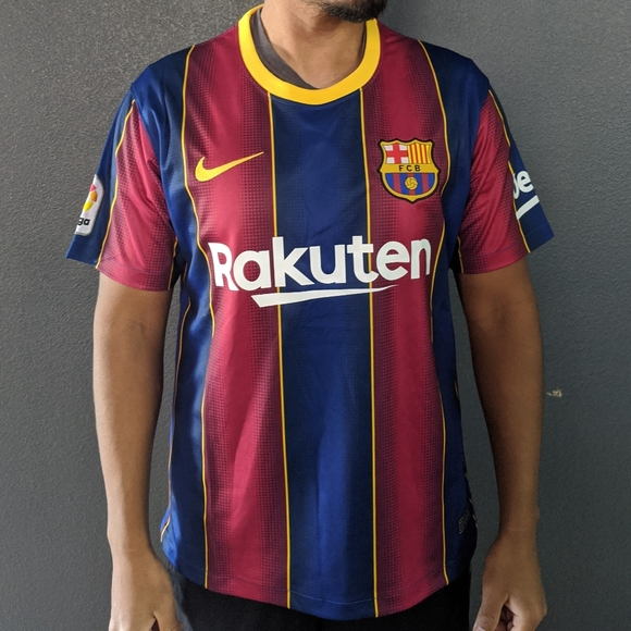 Shirts Fc Barcelona Messi 2021 Home Jersey Poshmark